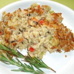 Wild Rice and Sausage Casserole recipe