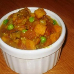 Spicy Yam Curry recipe