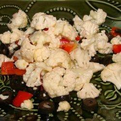 Raw Cauliflower Salad recipe