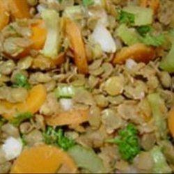 Marinated Lentil Salad recipe
