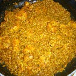Super Simple, Super Quick Chicken Curry and Rice recipe