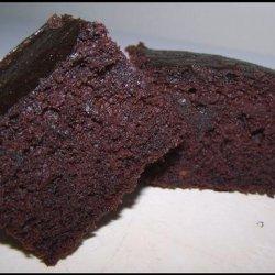 Double Dark Chocolate Cake recipe