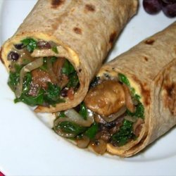 Veggie and Black Bean Wrap recipe