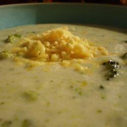 Homestyle Cream of Broccoli Soup recipe
