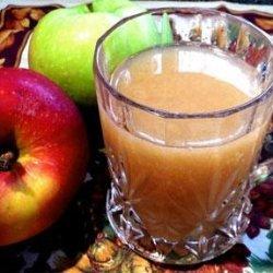 Hot Spiced Apple Cider in a Crock Pot recipe