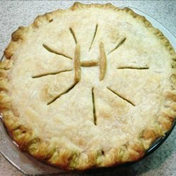 Salmon & Potato Pie recipe