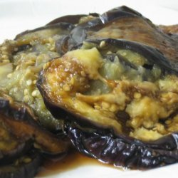 Steamed Eggplant With Garlic and Chilli recipe