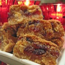 Cranberry Cinnamon Nut Bars recipe
