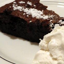 Passover Double Chocolate Almond Torte recipe