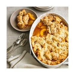 Fresh Peach Cobbler recipe
