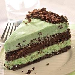 Dark Chocolate and Mint Ice Cream Torte recipe