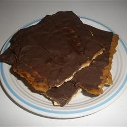 Chocolate Covered Matzo recipe