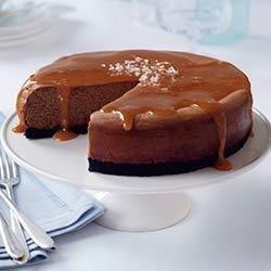 Salted Caramel Chocolate Cheesecake recipe