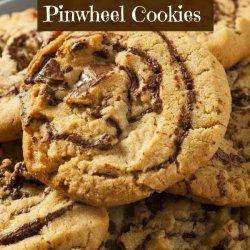 Peanut Butter Pinwheel Cookies recipe