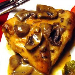 Rosemary Chicken With Mushroom Sauce recipe