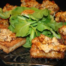Gorgonzola Canapes recipe