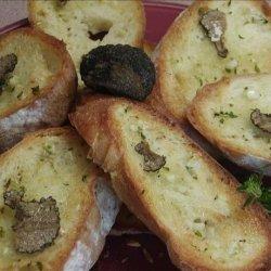 Garlic  Bread With Truffle Oil recipe