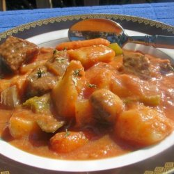 Beef Stew With Veggies recipe