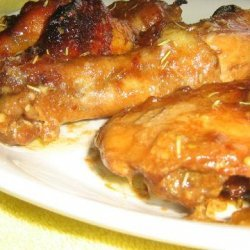 Hot, Sweet and Sticky Chicken Drumettes recipe
