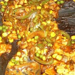 Spicy Stir Fried Chicken in Hoisin Sauce recipe