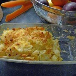 Cauliflower Pasta and Cheese Gratin recipe