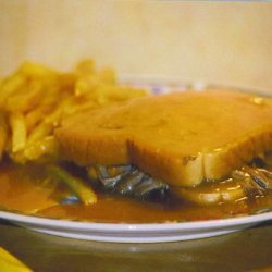 Hot Roast Beef Sandwiches & Gravy recipe