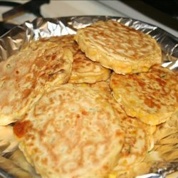 Corn Fritters With Chives recipe