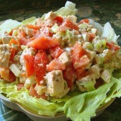 Cajun Tomato Chicken Salad recipe