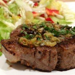 Steak Diane for Two recipe