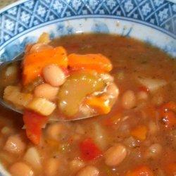 Portuguese Red Bean Soup recipe