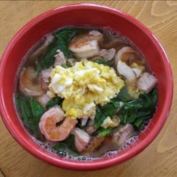 Bo Ling's Long Life Noodle Soup recipe