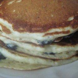 Blue Heaven Banana Pancakes recipe