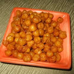 Spicy Fried Chickpeas recipe