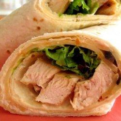 Salsa Chicken Wraps recipe