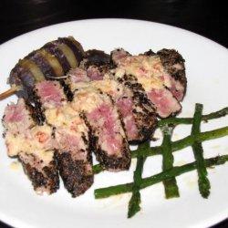 Tuna Au Poivre (Tuna With Ground Black Pepper) recipe