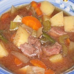 Baby's Vegetable and Beef Soup for the Crock Pot recipe