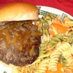 Tim's Sausage Burgers recipe
