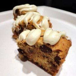 Blond Brownies recipe