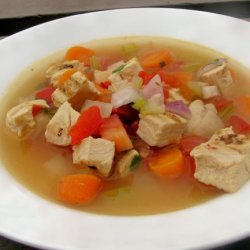 Chicken Lime Soup recipe