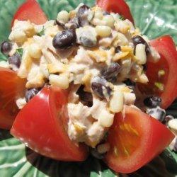 Ranch Tuna Stuffed Tomatoes recipe