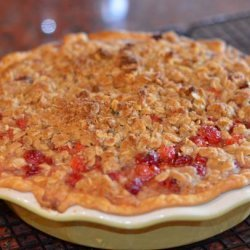 Cherry Crisp Pie recipe