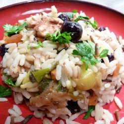 Wild Rice and Barley Pilaf With Dried Fruit recipe