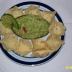 Guacamole that's Gone in a Flash recipe