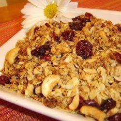 Nina's Healthy Granola recipe