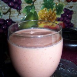 Peach Strawberry Smoothie recipe