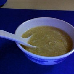 Corn Soup (Oriental-Ish) Delicious recipe