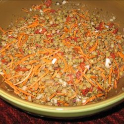 Lentil Salad Italiano recipe