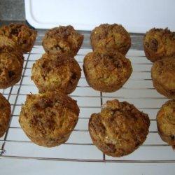 Healthy Carrot Zucchini Muffins recipe