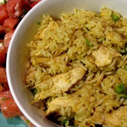 Curry Chicken Lime Rice Bowl recipe