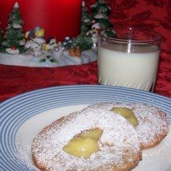English Lemon-Curd Cookies recipe
